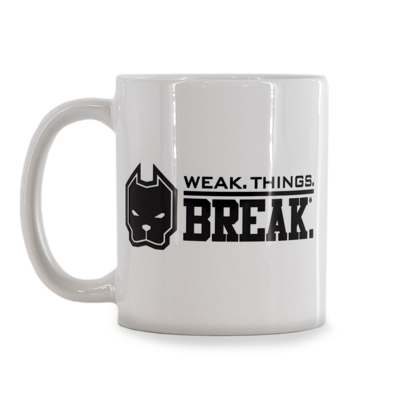 WSBB Coffee Mug - Weak Things Break