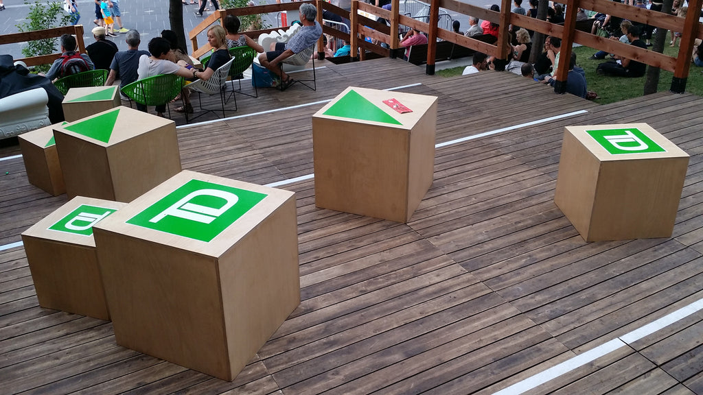 TD BANK VIEWING PLATFORM AT THE MONTREAL JAZZ FEST