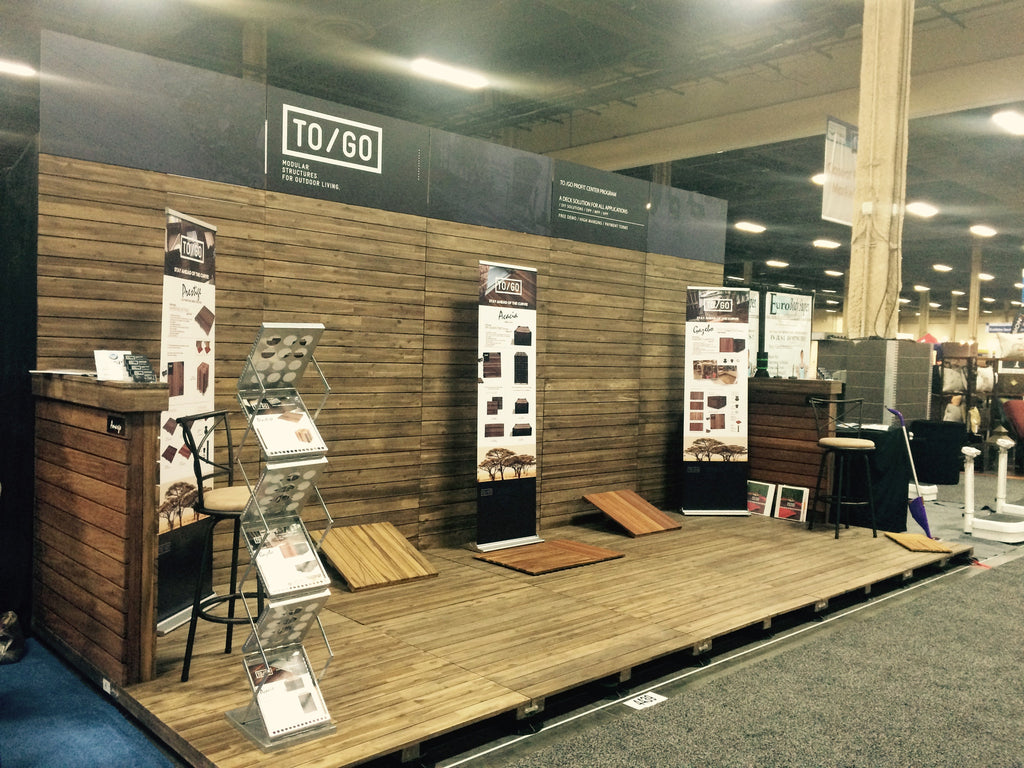 Exhibition Booth Flooring : How to create your own booth floor and or walls quickly