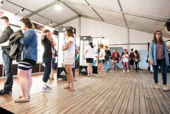 Tent and event flooring