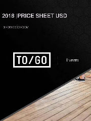 TO/GO Price Sheet 2018