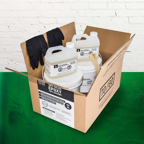 Emerald Green Metallic 100% Solid Epoxy Kit 4,5L Includes : 1x (842315052011) & 1x (BASE-125-500ML)