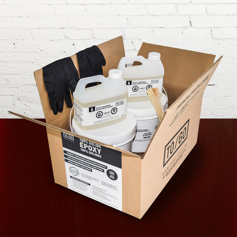 Burgundy 100% Solid Epoxy Kit 4,5L Includes : 1x (842315052011) & 1x (BASE-375-500ML)