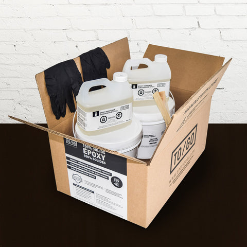 # 939 Dark Brown 100% Solid Epoxy Kit 4,5L Includes : 1x (842315052011) & 1x (BASE-939-500ML)