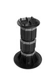 DTG-DECK TILE Adjustable Pedestal Supports with Top Tile Connector (Pack of 8)