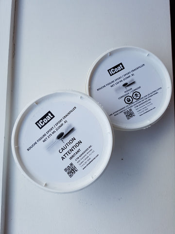 Icoat Epoxy Crackfiller