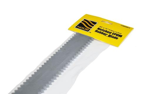 1/4'' NOTCHED RUBBER BLADE 24''