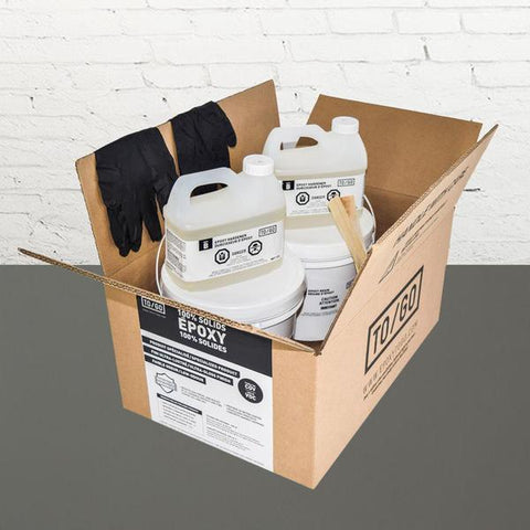 DOUBLE KIT (500 sq/ft) Medium Grey 352/663 100% Solid Epoxy Includes 2 x 4,5L : 2x Clear (842315052011) & 2x Dye (BASE-352-500ML)