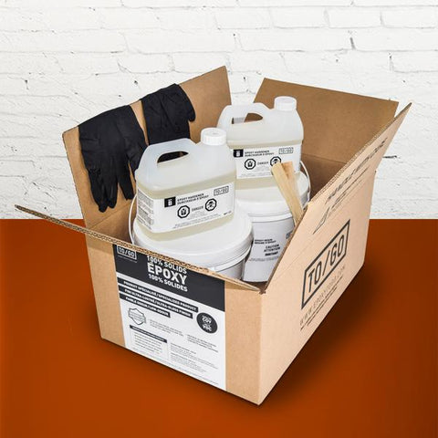 # 138 DOUBLE KIT Orange Metallic 100% Solid Epoxy Includes 2 x 4,5L : 2x Clear (842315052011) & 2x Dye (BASE-138-500ML)