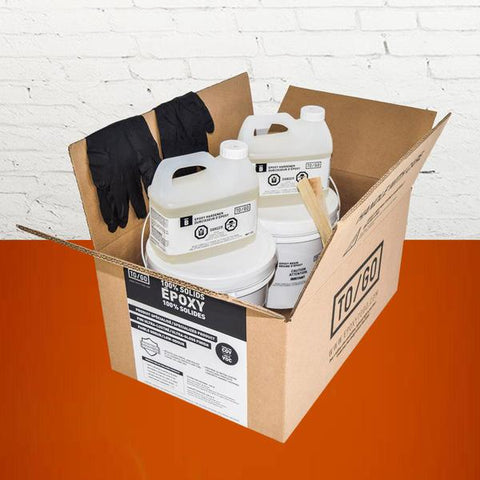 DOUBLE KIT Safety Orange 100% Solid Epoxy Includes 2 x 4,5L : 2x Clear (842315052011) & 2x Dye (BASE-317-500ML)