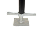 Adjustable Leg with Screw Jack (220 lbs PSF)
