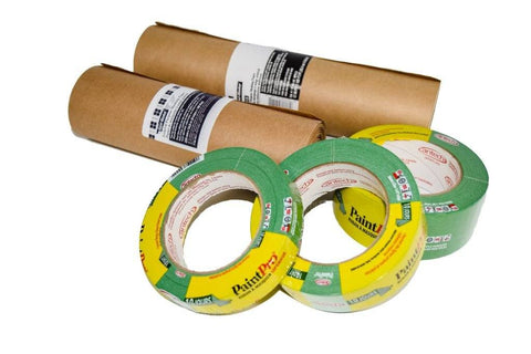 Market Place - Kit Of Making Tape Pro Green And Brown Masking Paper (842315052103)
