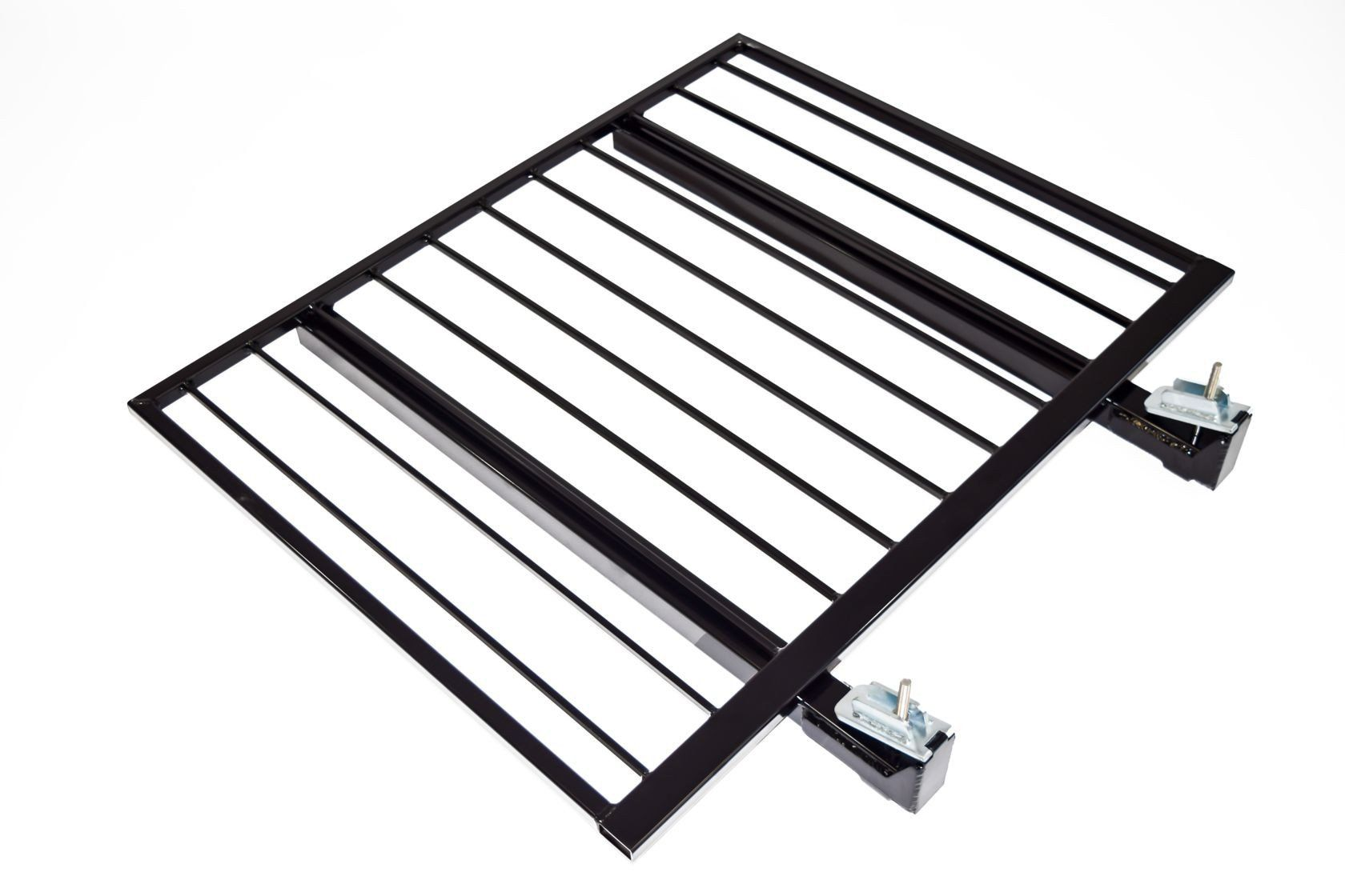 Aluminum Guardrail Frame (Code compliant for public use) Black Finish 4'x36