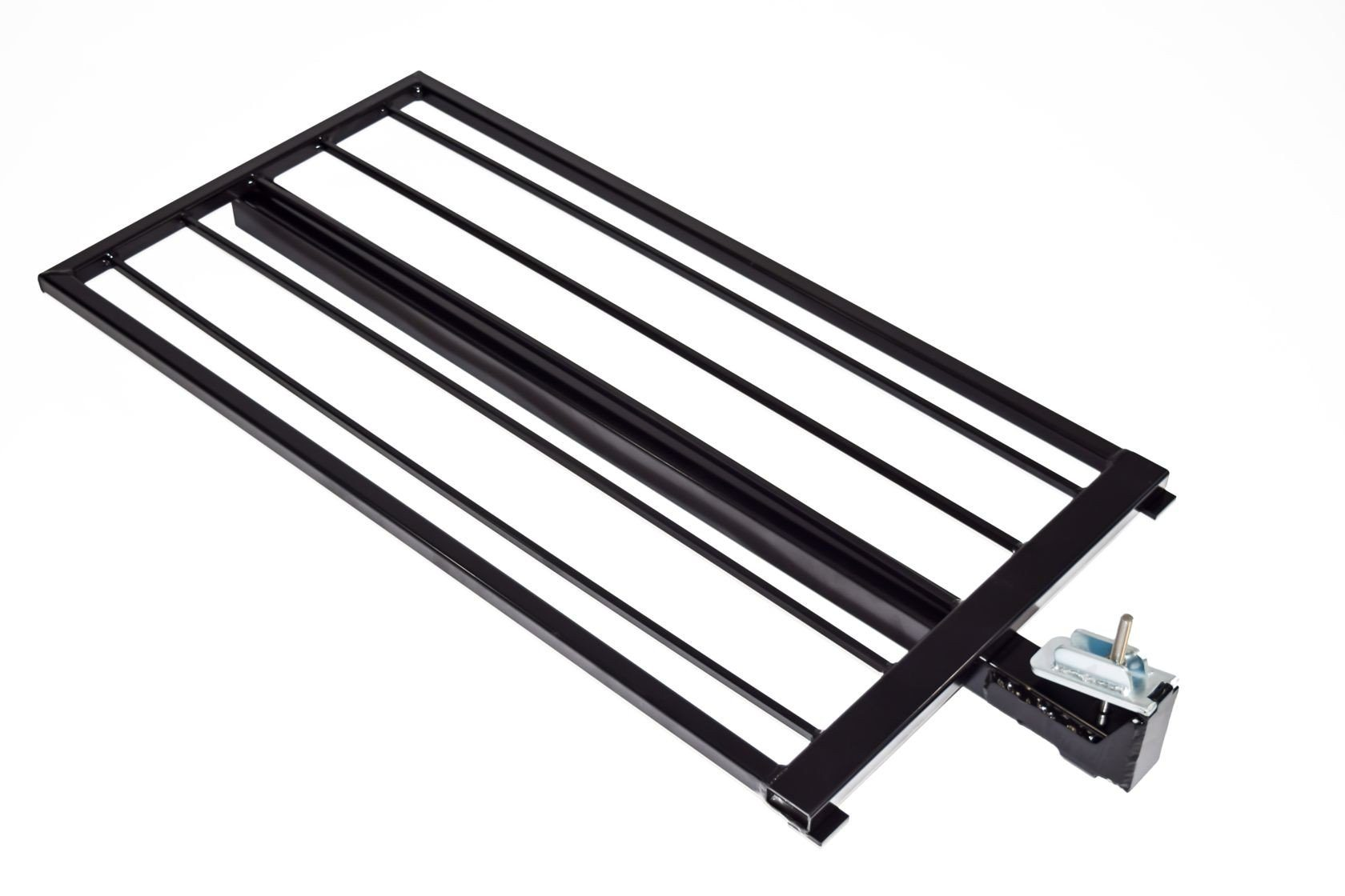 Aluminum Guardrail Frame (Code compliant for public use) Black Finish 2'x42