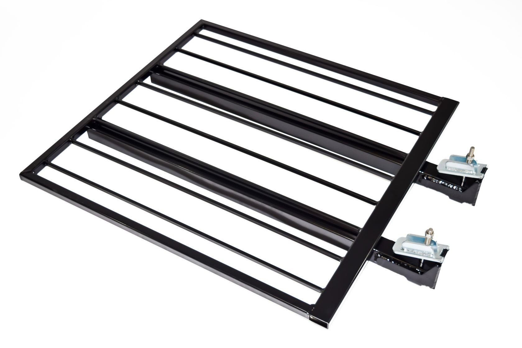 Aluminum Guardrail Frame (Code compliant for public use) Black Finish 3'x42