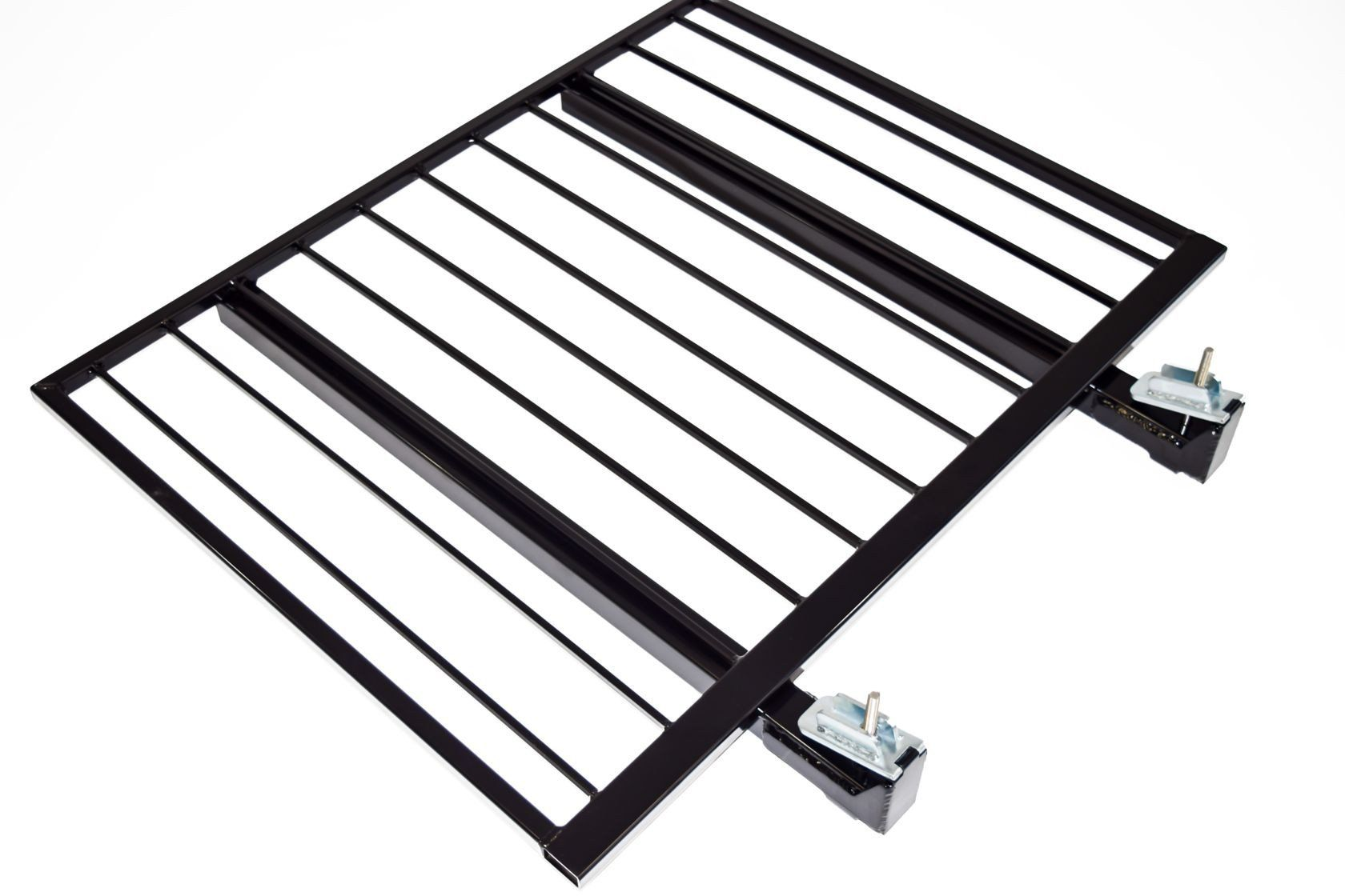 Aluminum Guardrail Frame (Code compliant for public use) Black Finish 4'x42