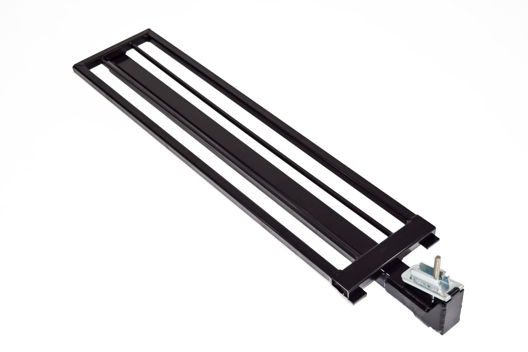 Aluminum Guardrail Frame (Code compliant for public use) Black Finish 1'x36