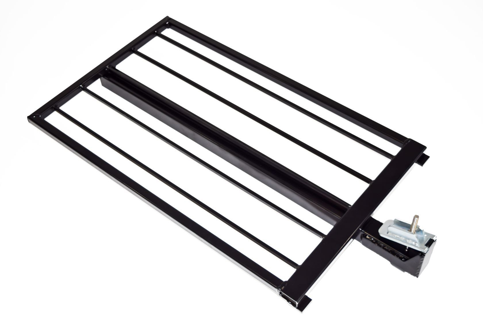 Aluminum Guardrail Frame (Code compliant for public use) Black Finish 2'x36