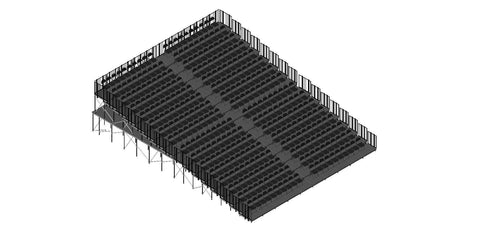Tiered Seating Kit 40'X48' KIT