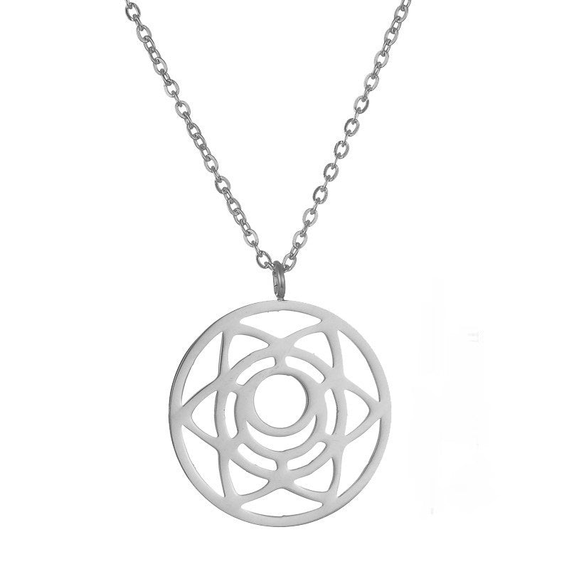 Sacral Chakra Stainless Steel Necklace