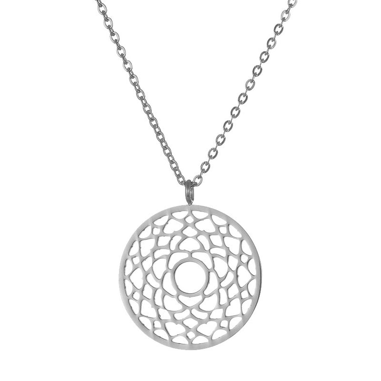 Crown Chakra Stainless Steel Necklace