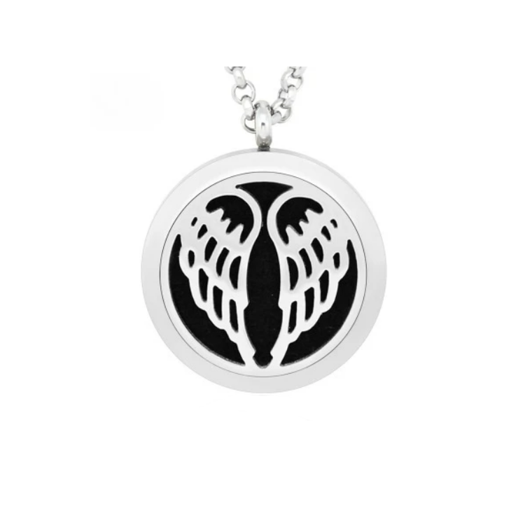 Angel Wings Aroma Lockets Necklace