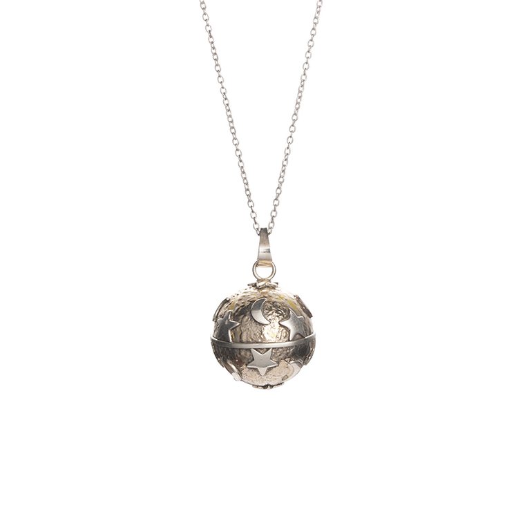 'Agnes' Harmony Ball Necklace
