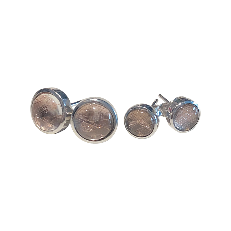 Apollo Meteorite Earrings