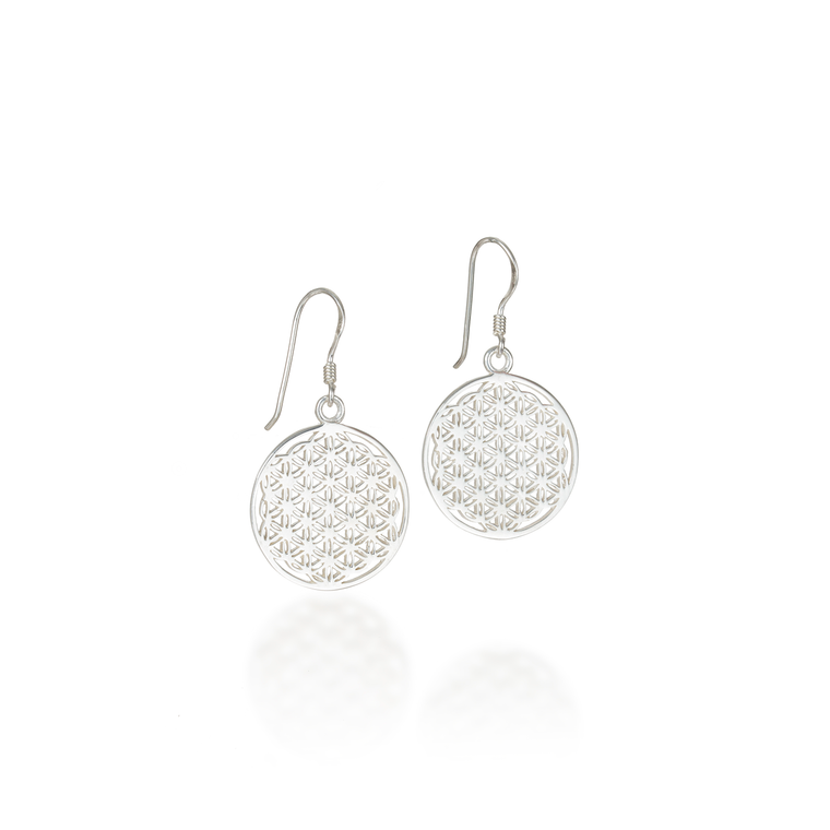 Flower of Life Classic Dangle Earrings