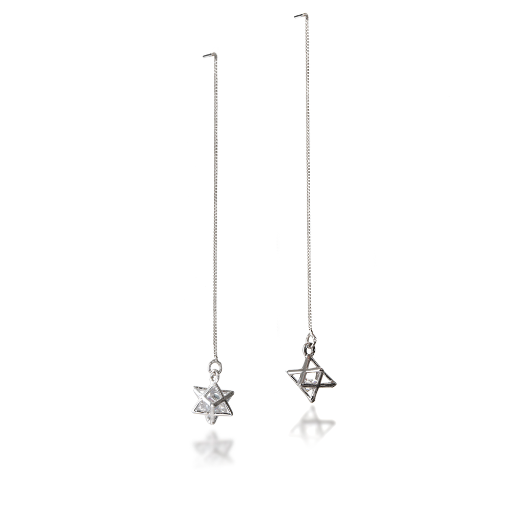 Merkaba Dangle Earrings