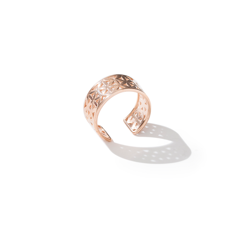Flower of Life Classic Rose Gold Ring