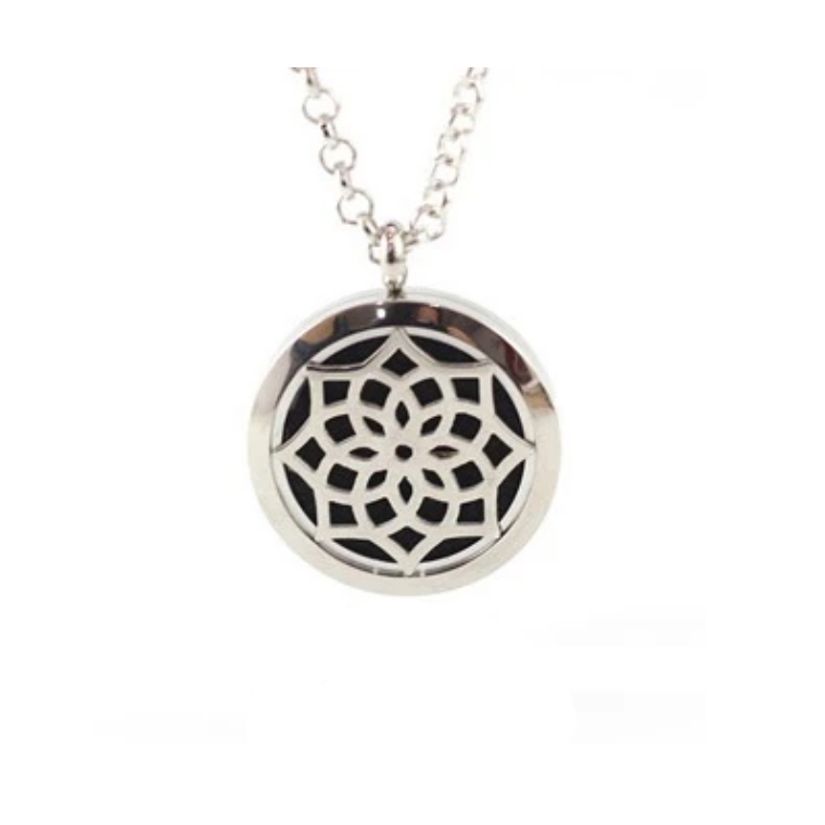 Crown Chakra Aroma Diffuser Necklace