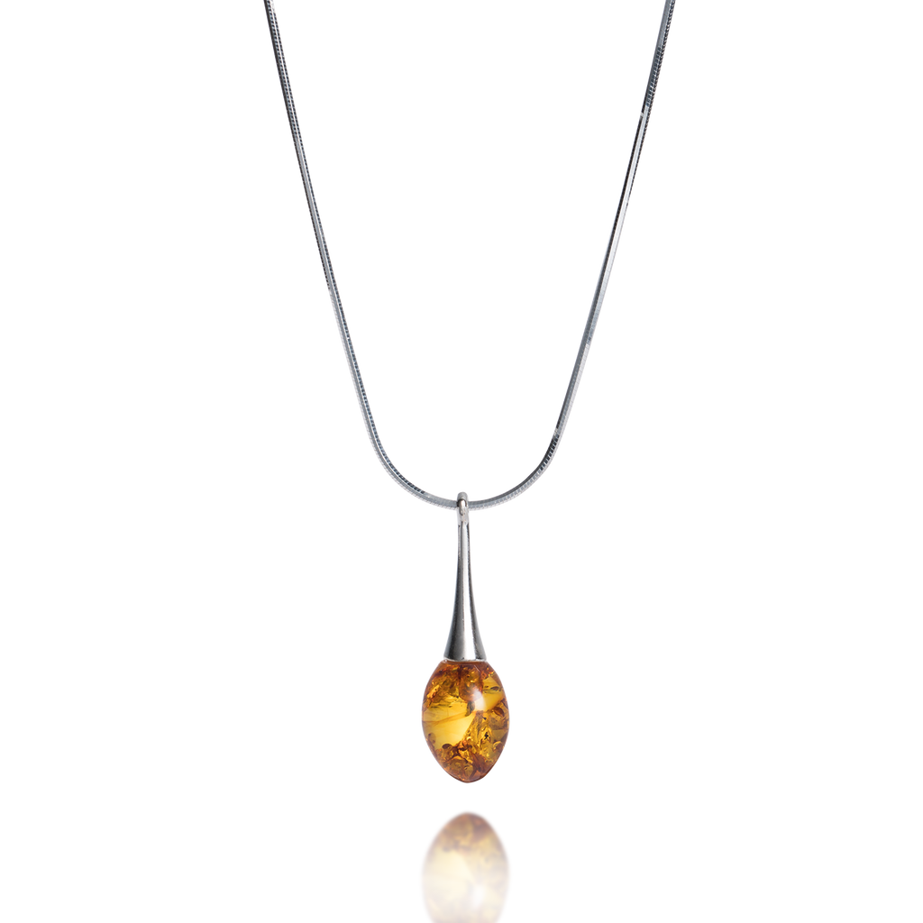 'Cadenza' Baltic Amber Necklace