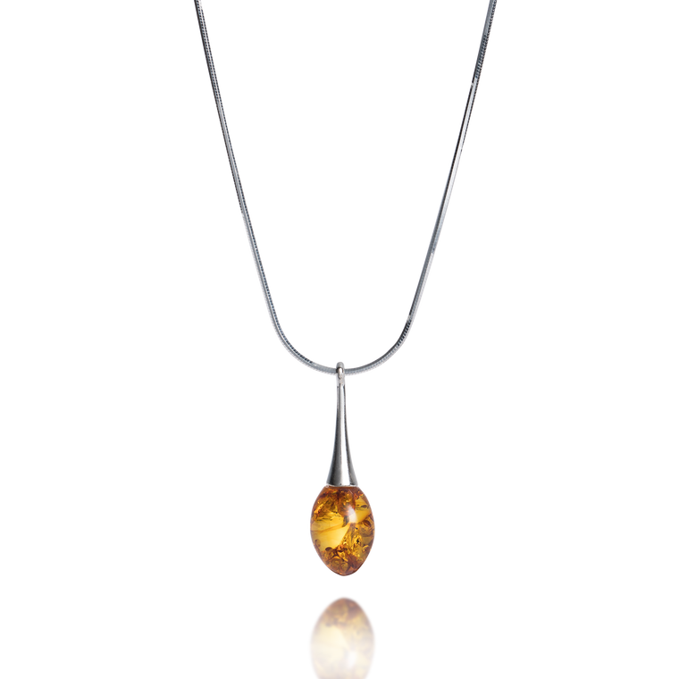 'Cadenza' Amber Necklace