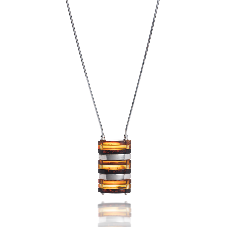 'Rafa' Amber Necklace