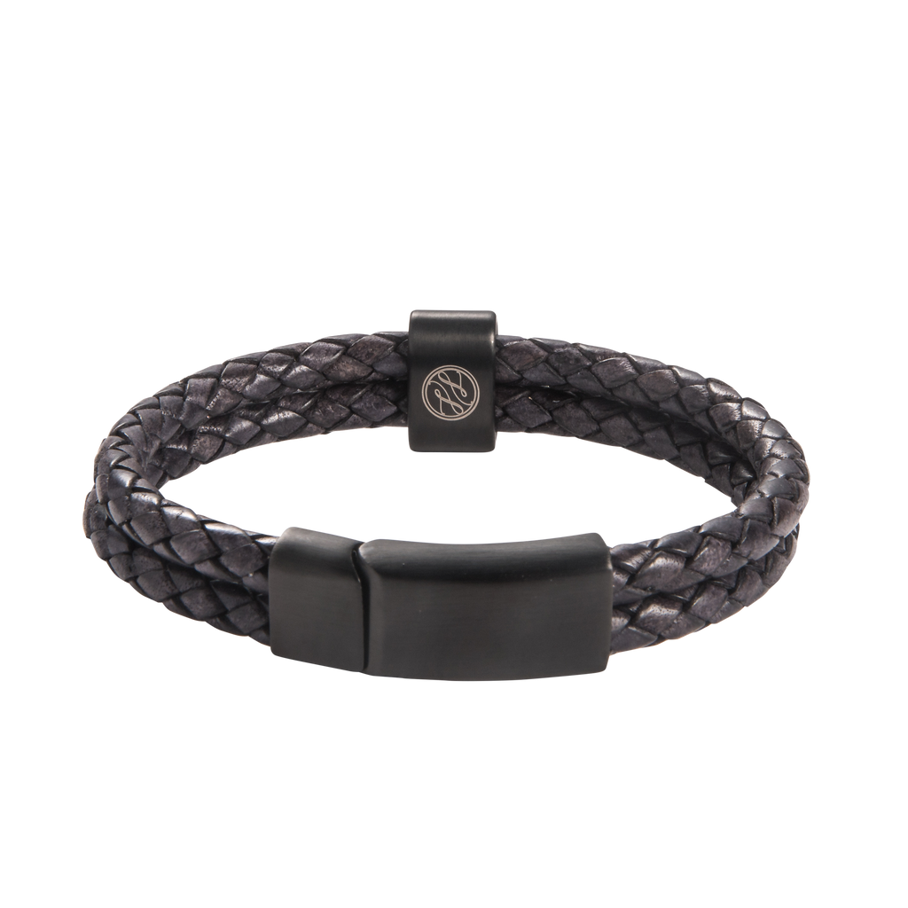 Crown Chakra Double Leather Bracelet