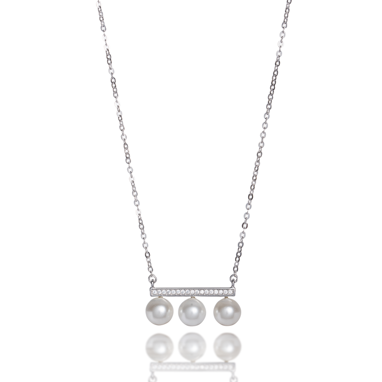 'Balance' Pearl Necklace