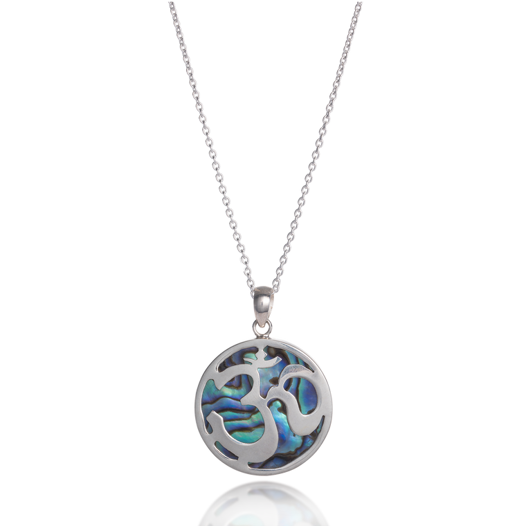 Om Paua Shell Necklace