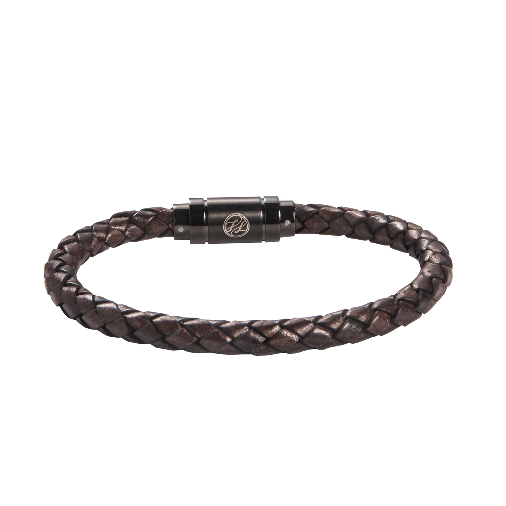 Root Chakra Leather Bracelet