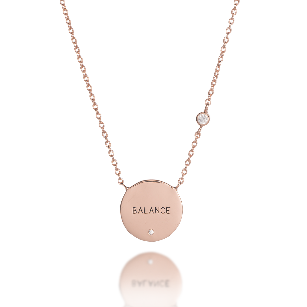 Balance Mantra Necklace