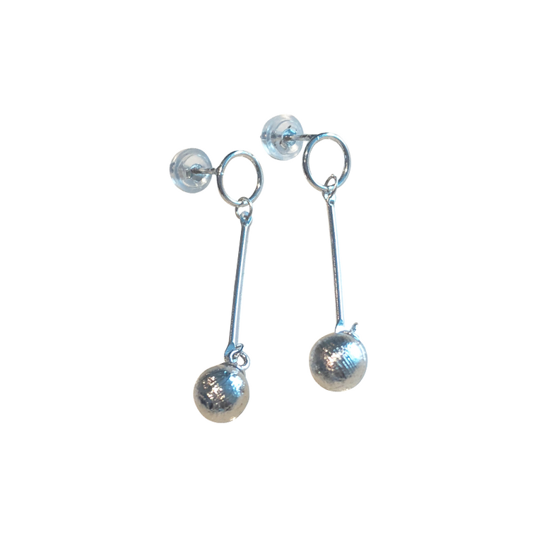 'Aten' Meteroite Earrings