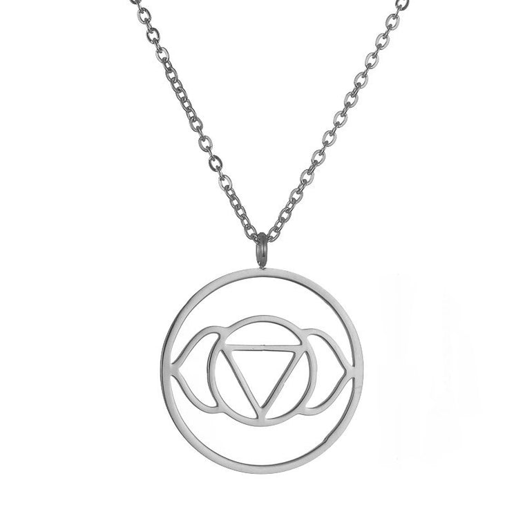 Brow Chakra Stainless Steel Necklace