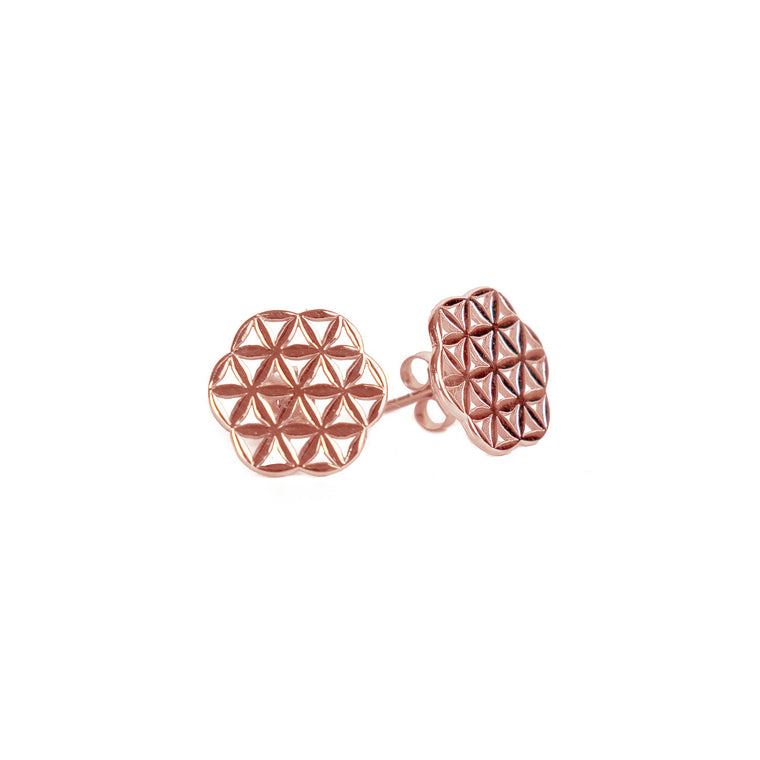 Flower of Life Classic Stud Earrings