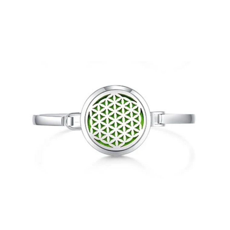 Flower of Life Aroma Diffuser Bangle
