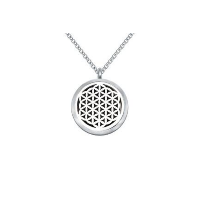 Flower of Life Aroma Diffuser Necklace