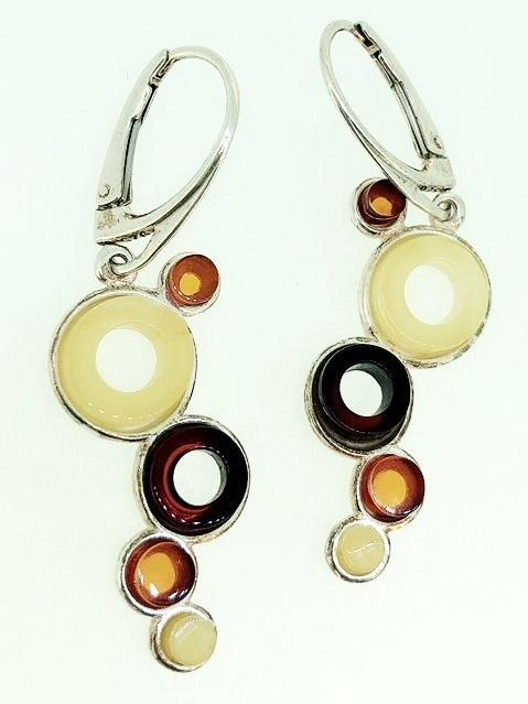 'Rafika' Amber Earrings