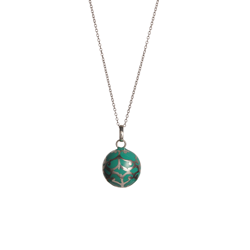green enamel harmony ball