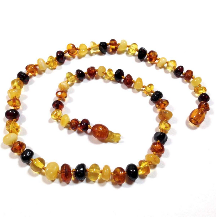 'Joy' Amber Baby Necklace