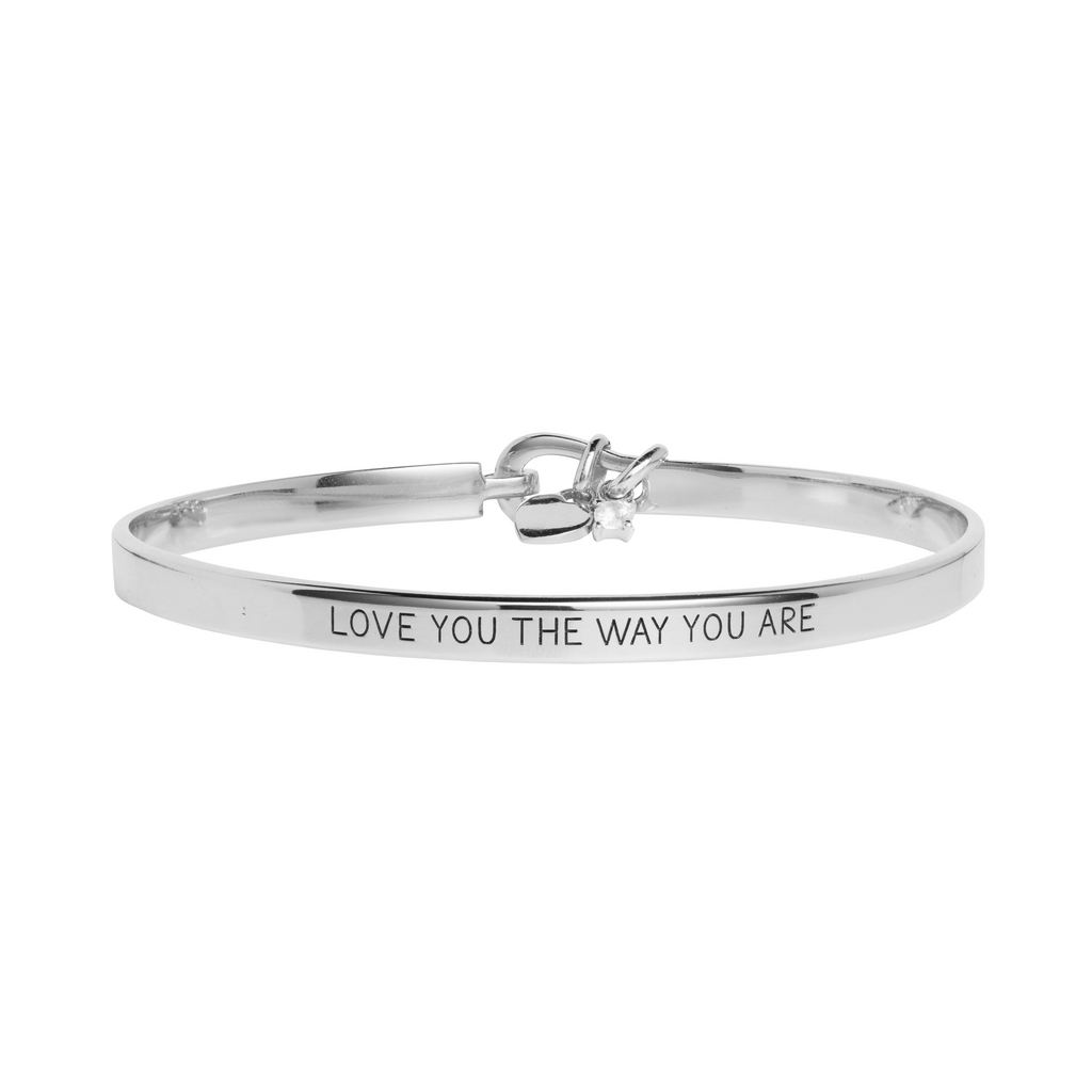 'Love You The Way You Are' Mantra Bangle