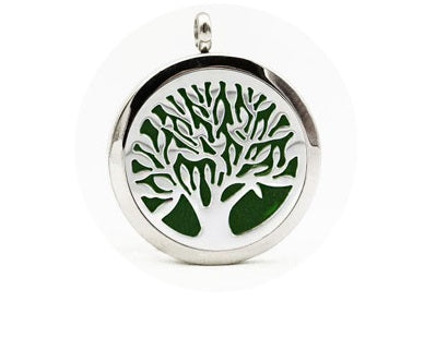Tree of Life Aroma Diffuser Necklace